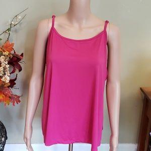 Fashion Bug bright pink cami tank top